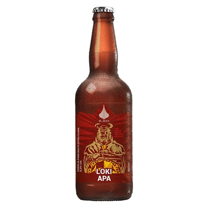 Cerveja Loki American Pale Ale Garrafa 500ml