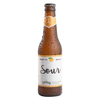 Cerveja Louvada Catharina Sour Laranja Garrafa 355ml