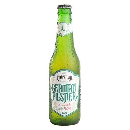 Cerveja Louvada German Pilsner Garrafa 355ml