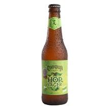 Cerveja Louvada Hop Lager Garrafa 355ml