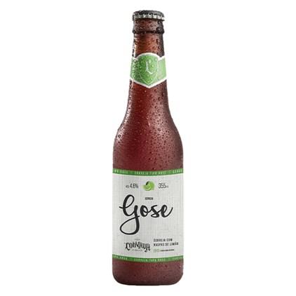 Cerveja Louvada Lager Gose Garrafa 355ml