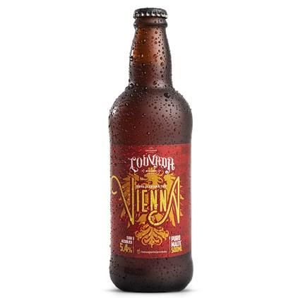 Cerveja Louvada Vienna Lager Garrafa 500ml