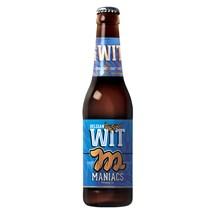 Cerveja Maniacs Belgian Wit Garrafa 355ml