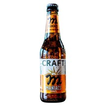 Cerveja Maniacs Craft Lager Garrafa 355ml