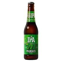 Cerveja Maniacs IPA Garrafa 355ml