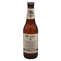 Cerveja Maniacs Rebellion Noire Garrafa 355ml