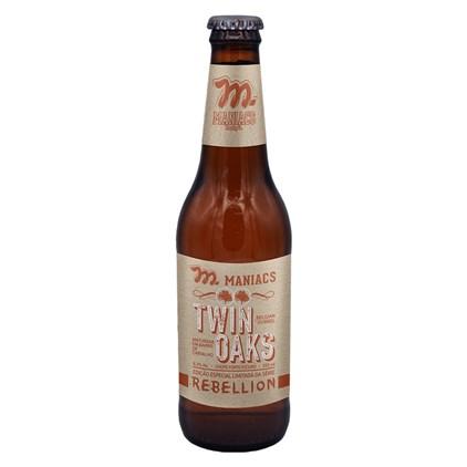 Cerveja Maniacs Rebellion Twin Oaks Garrafa 355ml
