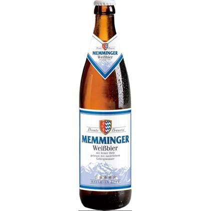 Cerveja Memminger Weissbier Garrafa 500ml
