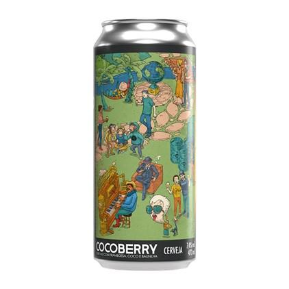 Cerveja MinduBier CocoBerry Lata 473ml