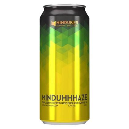 Cerveja MinduHHHaze Double New England IPA Lata 473ml