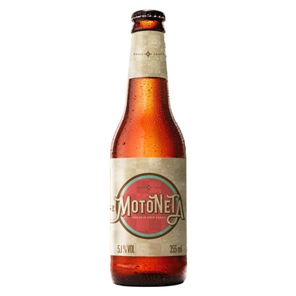 Cerveja Motoneta Garrafa 355ml