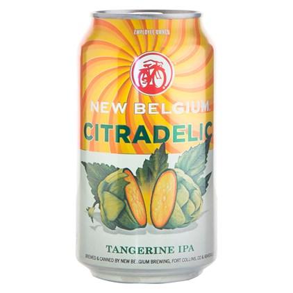 Cerveja New Belgium  Citradelic Tangerine IPA Lata 355ml