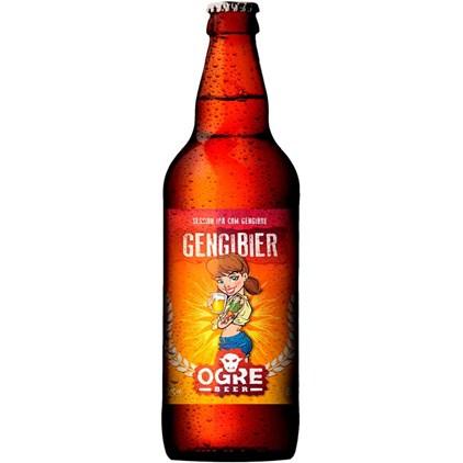 Cerveja Ogre Beer Gengibier Garrafa 600ml