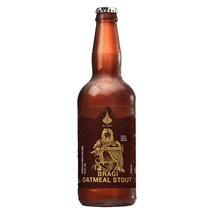 Cerveja Ol Beer Bragi Oatmeal Stout Garrafa 500ml