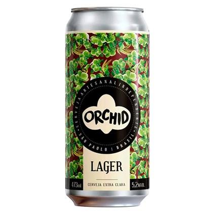 Cerveja Orchid Lager Lata 473ml