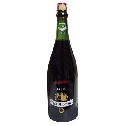 Cerveja Oud Beersel Kriek Vieille Garrafa 750ml