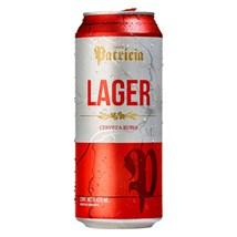 Cerveja Patricia Lager Lata 473ml