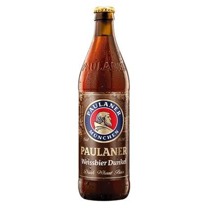 Cerveja Paulaner Hefe Weiss Dunkel Garrafa 500ml