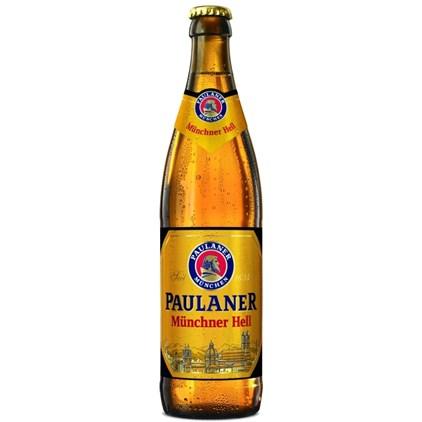 Cerveja Paulaner Munchner Hell Garrafa 500ml