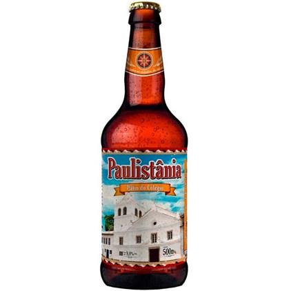Cerveja Paulistânia Pátio do Colégio Garrafa 500ml