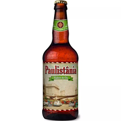 Cerveja Paulistânia Viaduto do Chá Garrafa 500ml