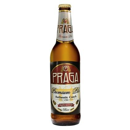 Cerveja Praga Premium Pils Garrafa 500ml