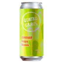 Cerveja Quatro Graus Comfort Hoppy Blonde Lata 473ml