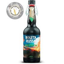 Cerveja Roleta Russa American Black IPA Garrafa 500ml