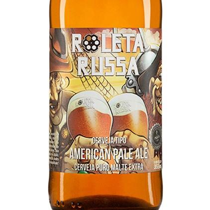 Cerveja Roleta Russa American Pale Ale 355ml
