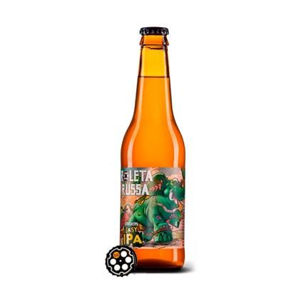 Cerveja Roleta Russa Easy IPA Garrafa 355ml