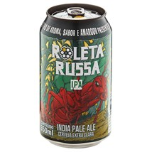 Cerveja Roleta Russa IPA Tambor Lata 350ml