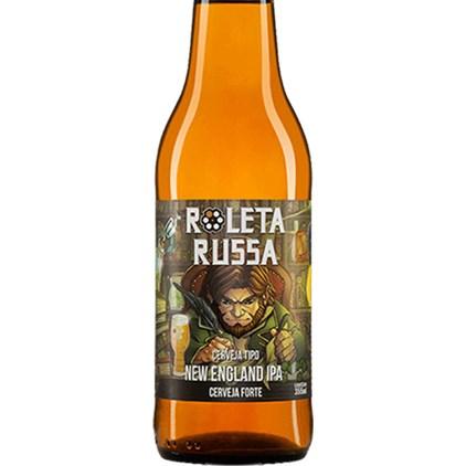 Cerveja Roleta Russa New England IPA Garrafa 355ml