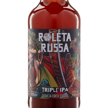 Cerveja Roleta Russa Triple IPA Garrafa 500ml