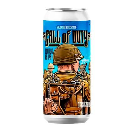 Cerveja Salvador Call of Duty Double NE IPA Lata 473ml