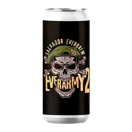 Cerveja Salvador Everarmy 2 Triple NE IPA Lata 473ml