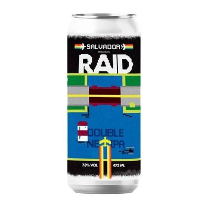 Cerveja Salvador Raid Double NE IPA Lata 473ml