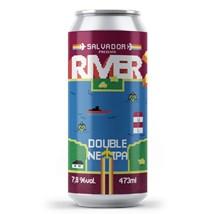 Cerveja Salvador River NE IPA Lata 473ml