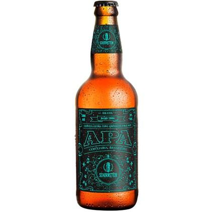 Cerveja Schornstein APA Garrafa 500ml