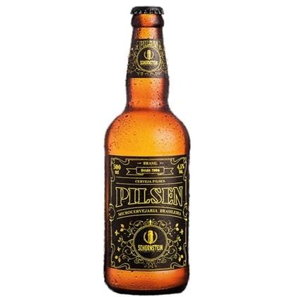 Cerveja Schornstein Pilsen Garrafa 500ml