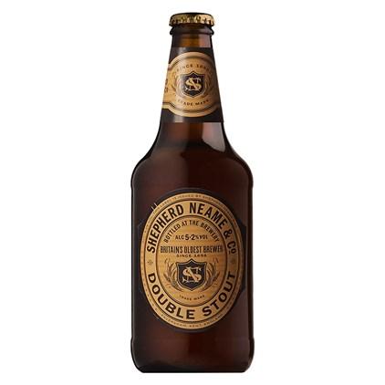 Cerveja Shepherd Neame Double Stout Garrafa 500ml