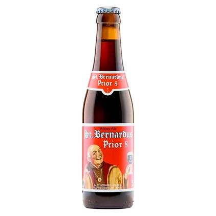 Cerveja St. Bernardus Prior 8 Garrafa 330ml