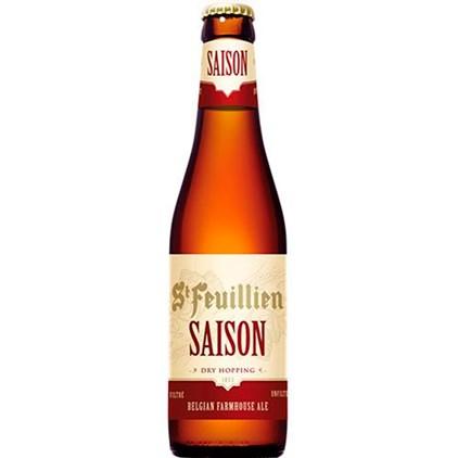 Cerveja St. Feuillien Saison Garrafa 330ml