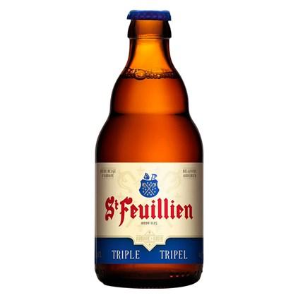 Cerveja St. Feuillien Tripel Garrafa 330ml