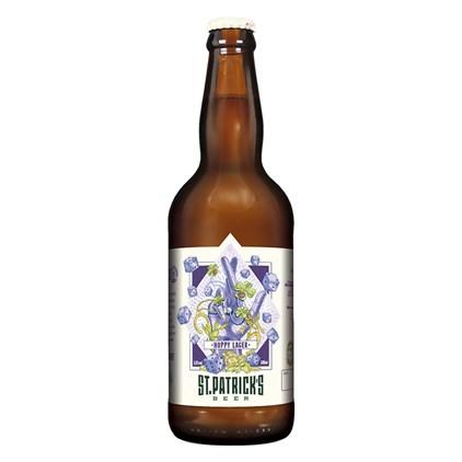 Cerveja St. Patrick's Hoppy Lager Garrafa 500ml