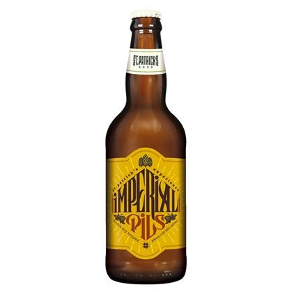Cerveja St. Patrick's Imperial Pils Garrafa 500ml