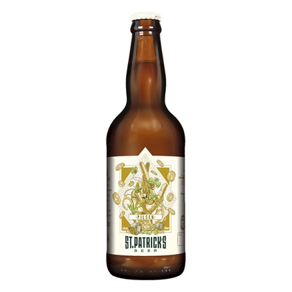 Cerveja St. Patrick's Pilsen Garrafa 500ml