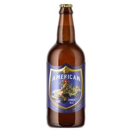Cerveja Steudel American Amber Ale Garrafa 500ml