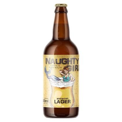 Cerveja Steudel Naughty Girl American Lager Garrafa 500ml