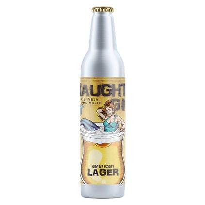 Cerveja Steudel Naughty Girl American Lager Garrafa de Alumínio 473ml