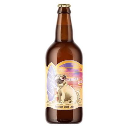 Cerveja Steudel Summer Love American Light Lager Garrafa 500ml